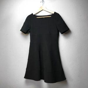 Little black textured dress